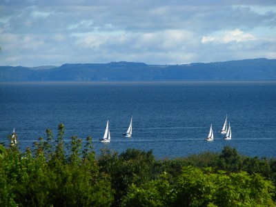 Lake Taupo from my balcony