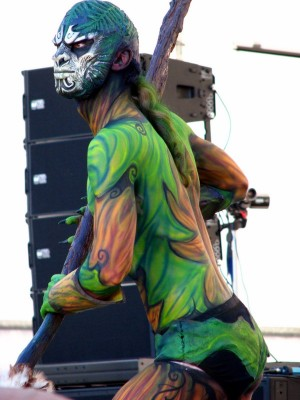 New Zealand Body Art Festival Special Effect Category