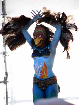 Kurangaituku, The Bird Woman