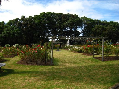 Entrance of Parnell Rose Garden