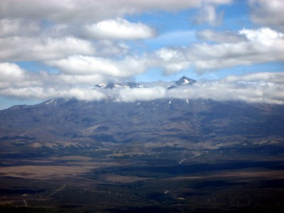 View of Mount Ruapehu from Urchin Summit