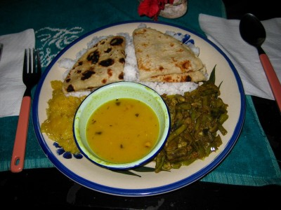 Indian Food provided by Krish from next door